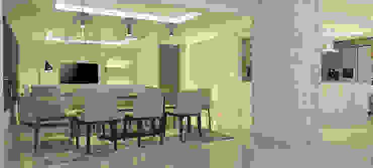 La Llovizna Modern Dining Room by Spazio Design Modern