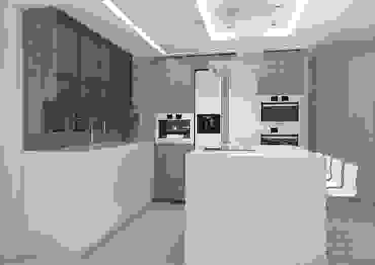 La Llovizna Modern Kitchen by Spazio Design Modern