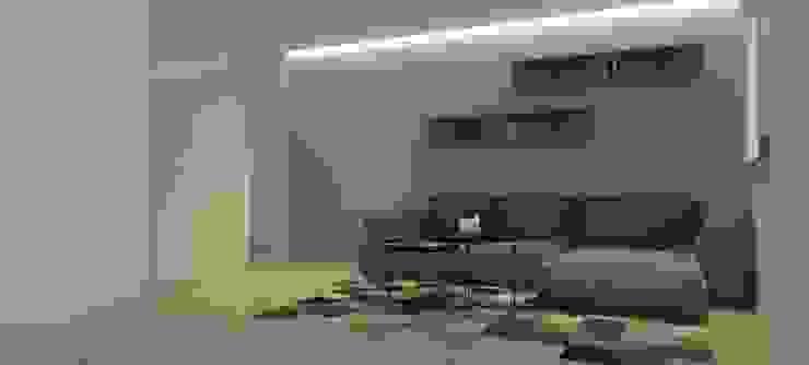 La Llovizna Modern Media Room by Spazio Design Modern