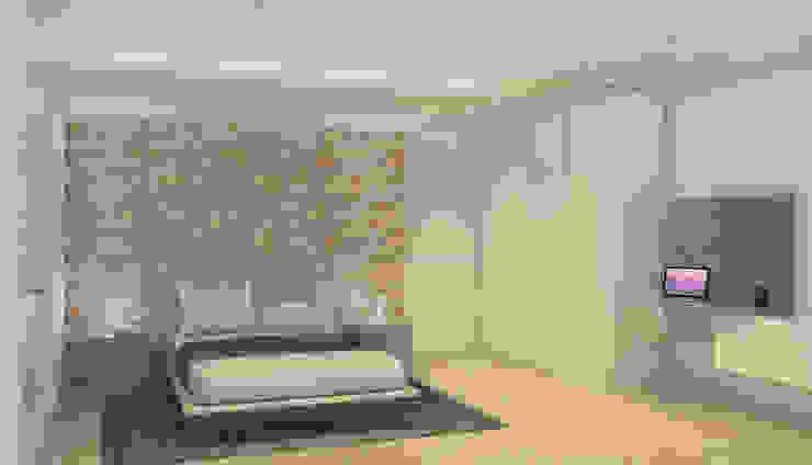 La Llovizna Modern Bedroom by Spazio Design Modern