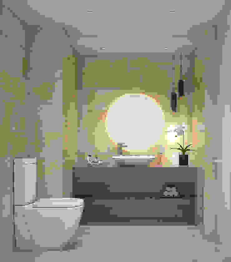 La Llovizna Modern Bathroom by Spazio Design Modern