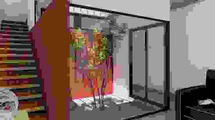 Vivienda en Duplex ARBOL Arquitectos Jardines de invierno modernos