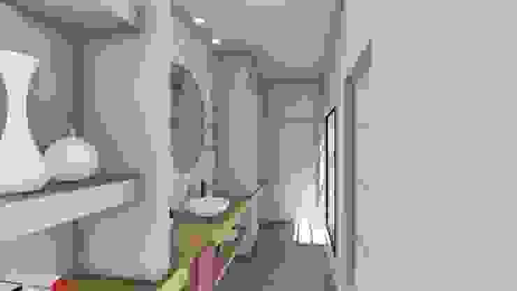 Vivienda en Duplex ARBOL Arquitectos Baños modernos