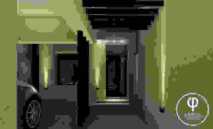Vivienda en Duplex ARBOL Arquitectos Pasillos, vestíbulos y escaleras modernos