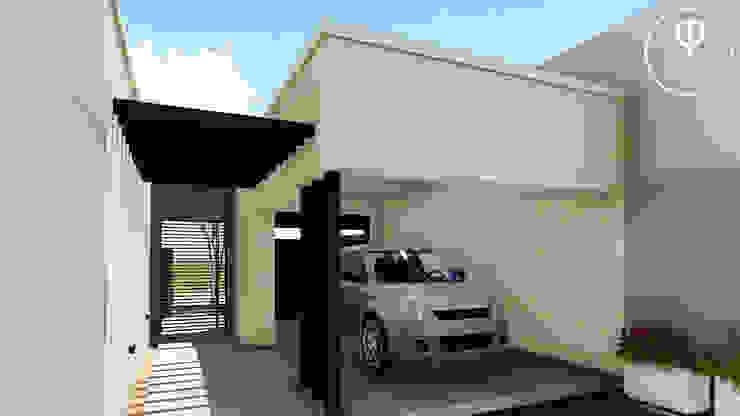 Vivienda en Duplex ARBOL Arquitectos Garajes modernos