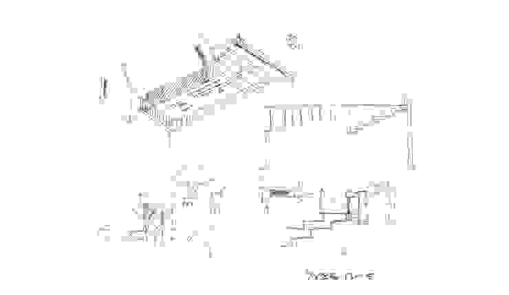 컨셉스케치 by (주)건축사사무소 예인그룹 모던 벽돌
