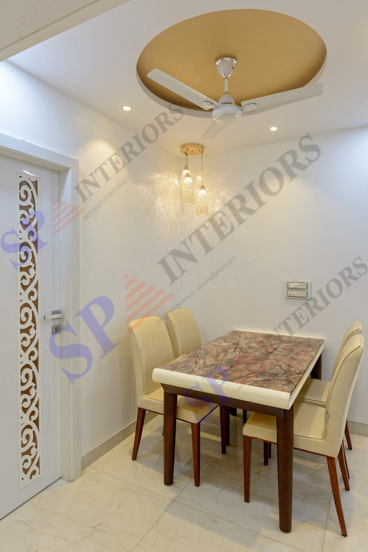 Mr. Rikin Classic style dining room by SP INTERIORS Classic