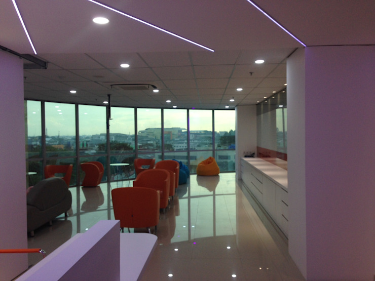 Interior Kantor Marketing FWD Life Indonesia Oleh Roemah Cantik Minimalis