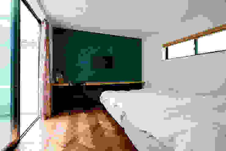 Modern Bedroom by H建築スタジオ Modern