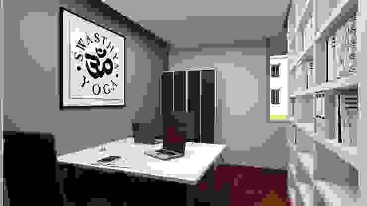 Oficinas de estilo moderno de SHI Studio, Sheila Moura Azevedo Interior Design Moderno
