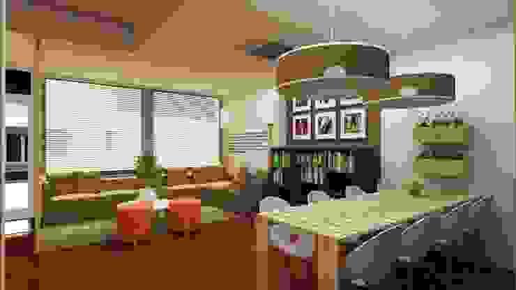 Comedores de estilo moderno de SHI Studio, Sheila Moura Azevedo Interior Design Moderno