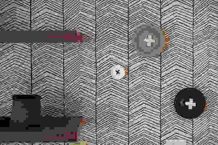 Quarto criança - Papel de parede - Apartamento T2 em Cascais - SHI Studio Interior Design ShiStudio Interior Design QuartoAcessórios e decoração