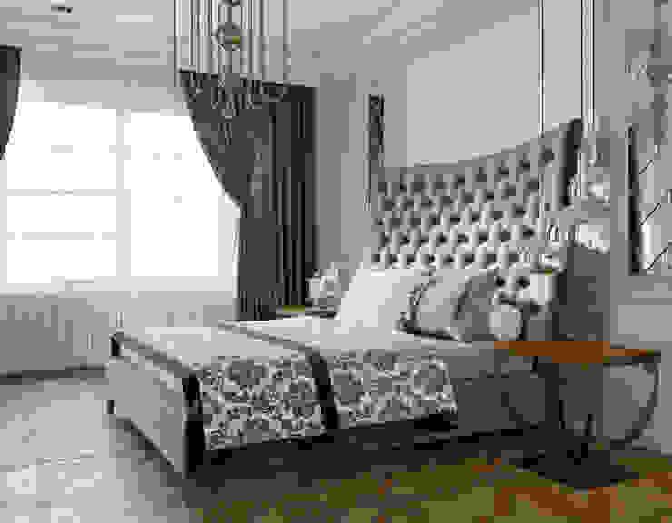 Chambre classique par Дизайн студия Simply House Classique