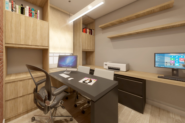 根據 A|S Studio Criativo 3D - Soluções Inteligentes em projetos técnicos 現代風
