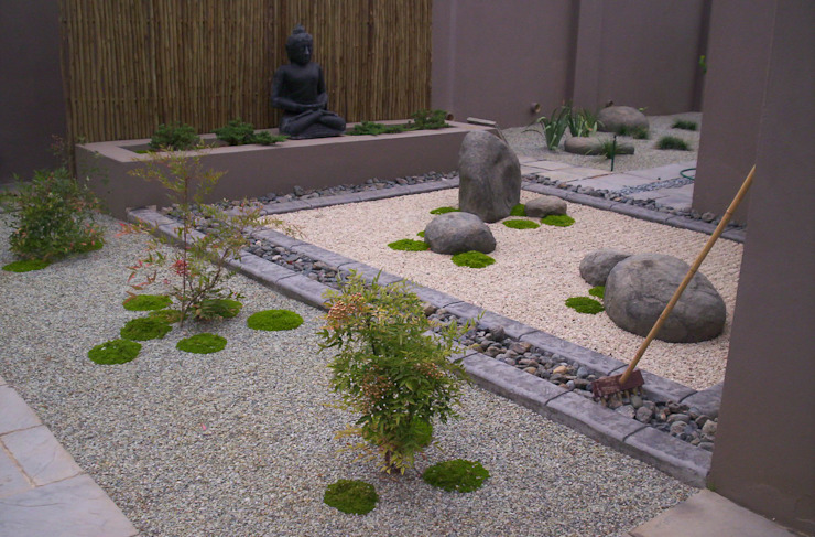 BRADLEY Asian style garden by Japanese Garden Concepts Asian