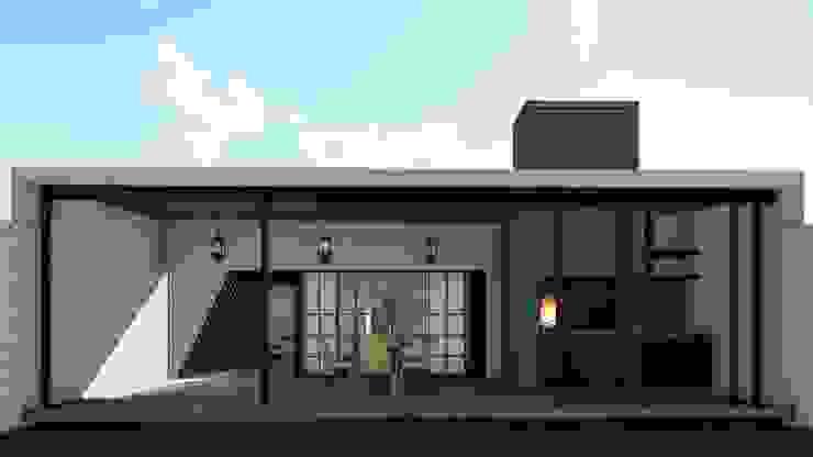Remodelacion y ampliación Vivienda Moderna/Industrial Casas industriales de ARBOL Arquitectos Industrial