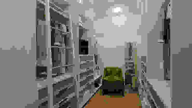 Квартира для джетсеттера Гардеробная в эклектичном стиле от Spacelab Design Эклектичный