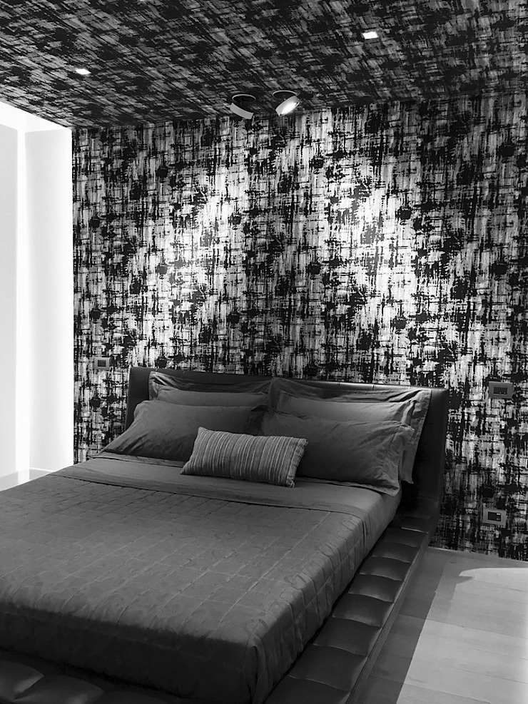 D&R apartment Camera da letto moderna di Studio ARCHEXTE' _ Vincenzo Castaldi Architetto Moderno