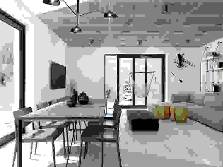365 Stopni Living room Concrete Grey