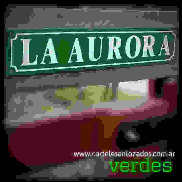 CARTELESENLOZADOS.COM.AR Balconies, verandas & terraces Accessories & decoration
