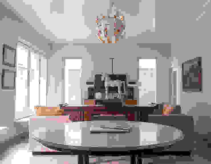 Living Area // i45 House Ruang Keluarga Modern Oleh homify Modern