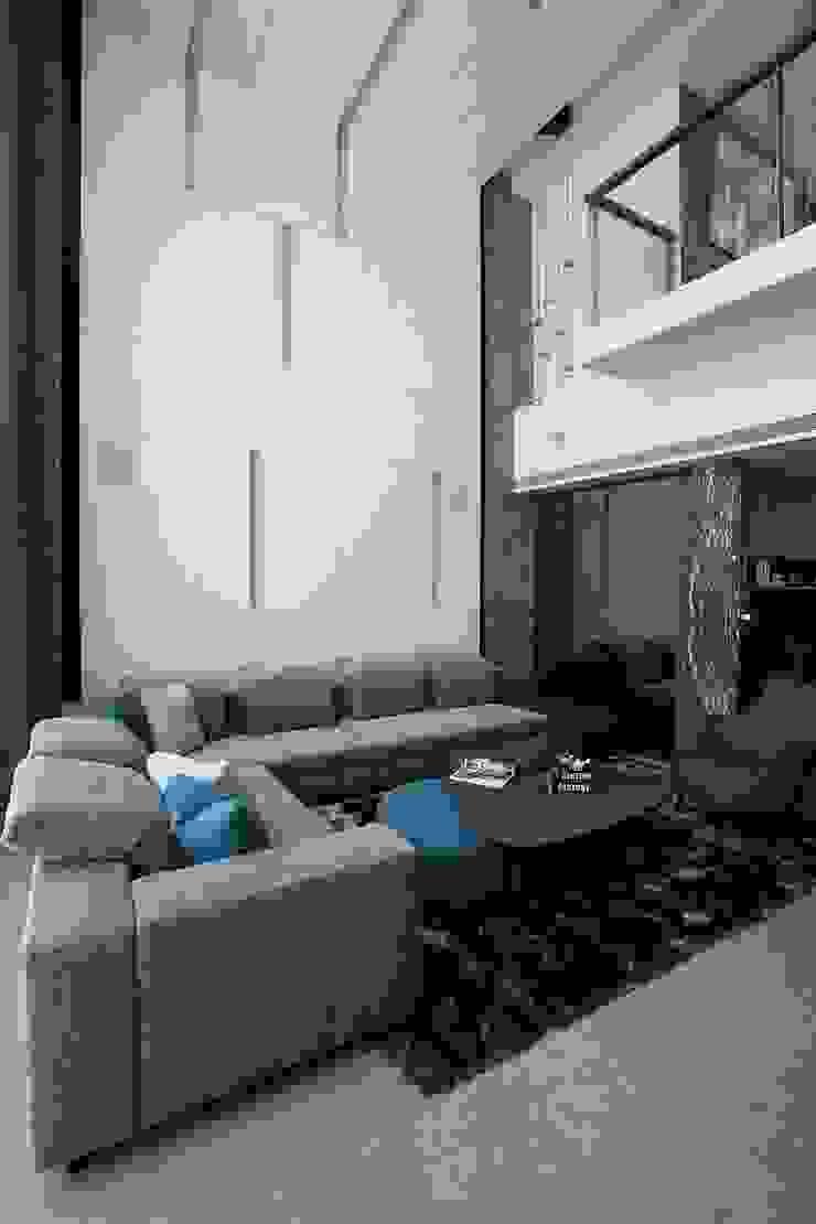 Modern living room by 築青室內裝修有限公司 Modern
