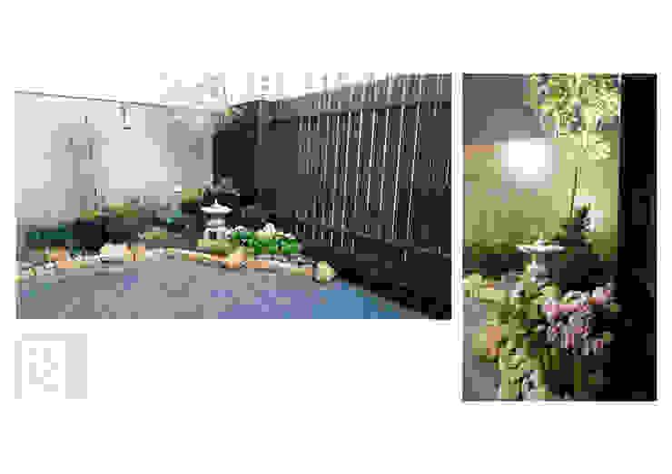 Balcones y terrazas de estilo ecléctico de 沐築空間設計 Ecléctico