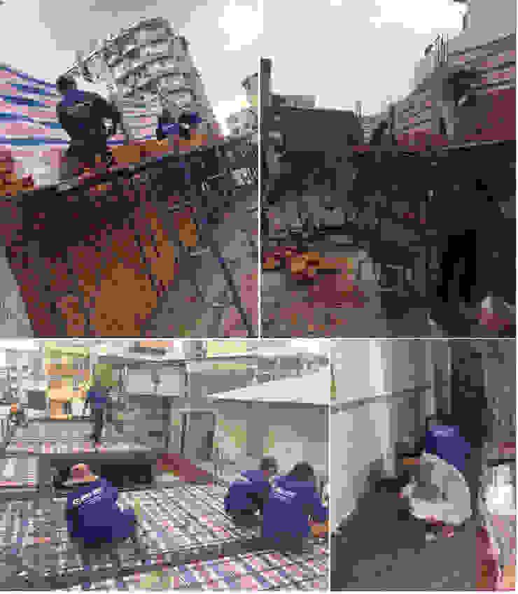 Cận Cảnh Ngôi Nhà Phố 3 Tầng Thoáng Đãng Ở Quận Bình Tân bởi Công ty TNHH Xây Dựng TM – DV Song Phát Hiện đại