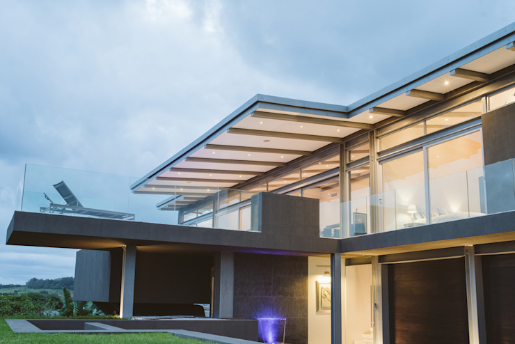 House BellaVida, Salt Rock, South Africa  :  Single family home by Hugo Hamity Architects