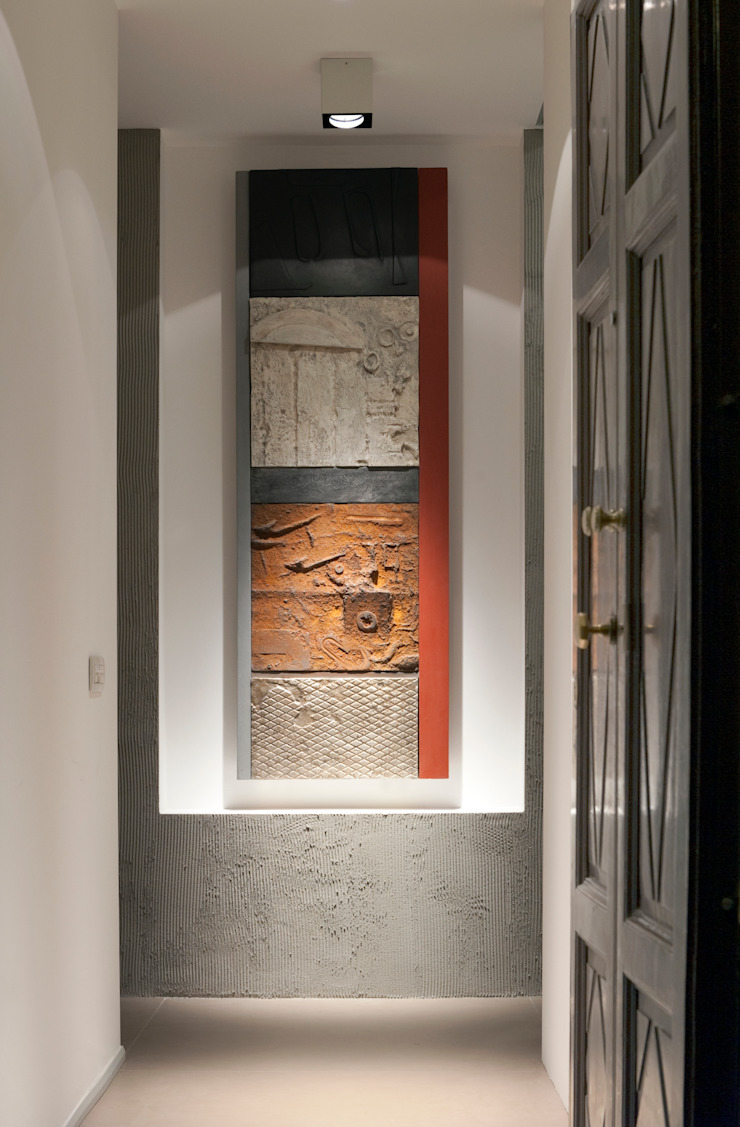 Modern Corridor, Hallway and Staircase by Gianluca Bugeia ARCHITETTO Modern