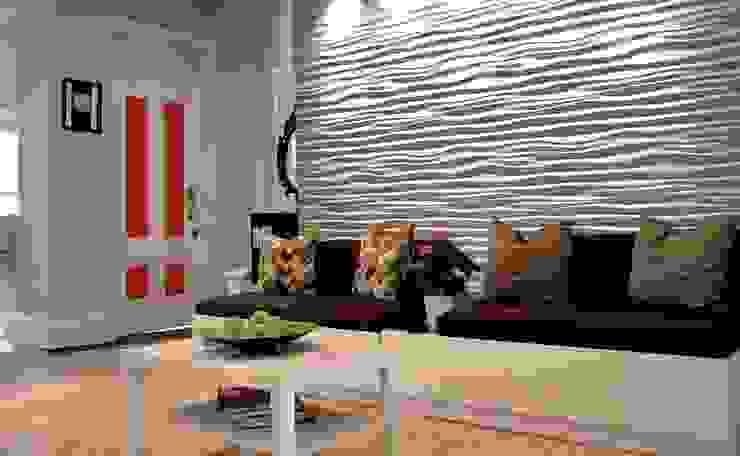 3D Wandpaneele Modell Nr. 28 Moderne Wände & Böden von Loft Design System Deutschland - Wandpaneele aus Bayern Modern