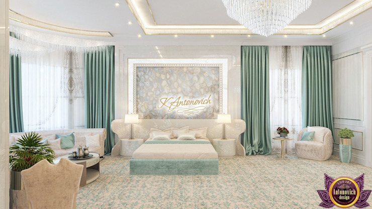 ​Interior design house ideas by Katrina Antonovich Modern style bedroom by Luxury Antonovich Design Modern