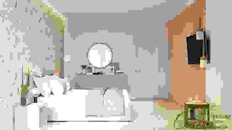 Dormitorios de estilo  de Компания архитекторов Латышевых 'Мечты сбываются', Minimalista