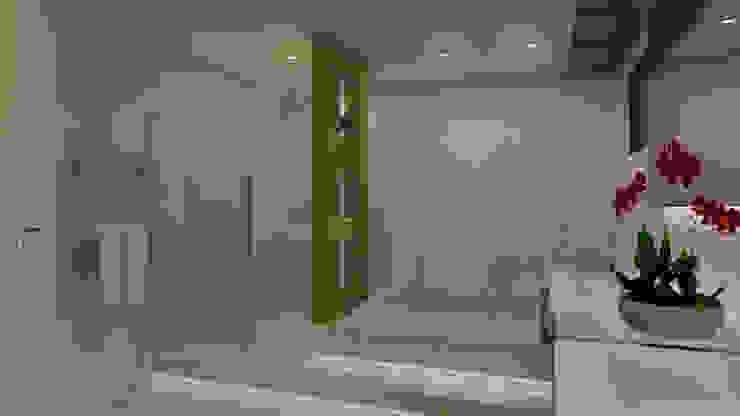 Baños de estilo  por Virna Carvalho Arquiteta