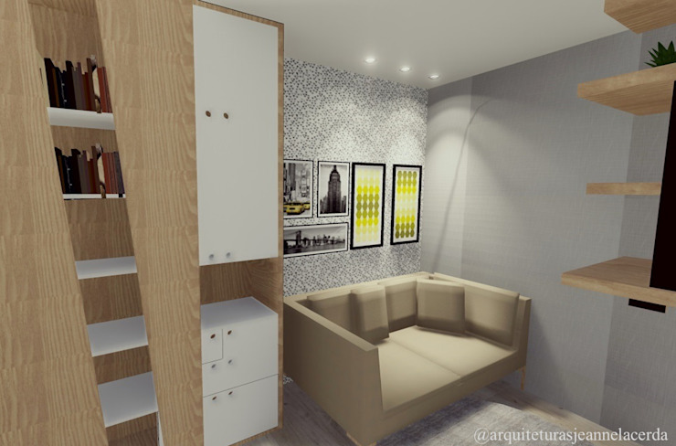 Modern style bedroom by realizearquiteturaS Modern