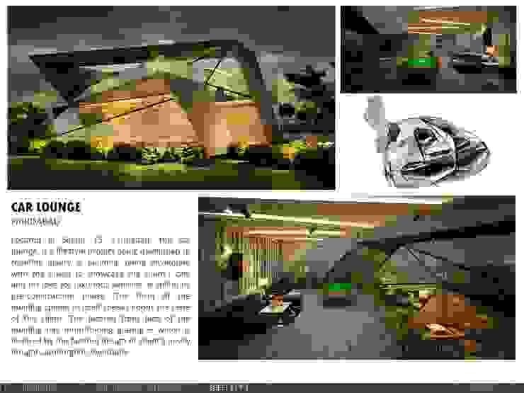 Car Lounge by amitmurao.com Modern