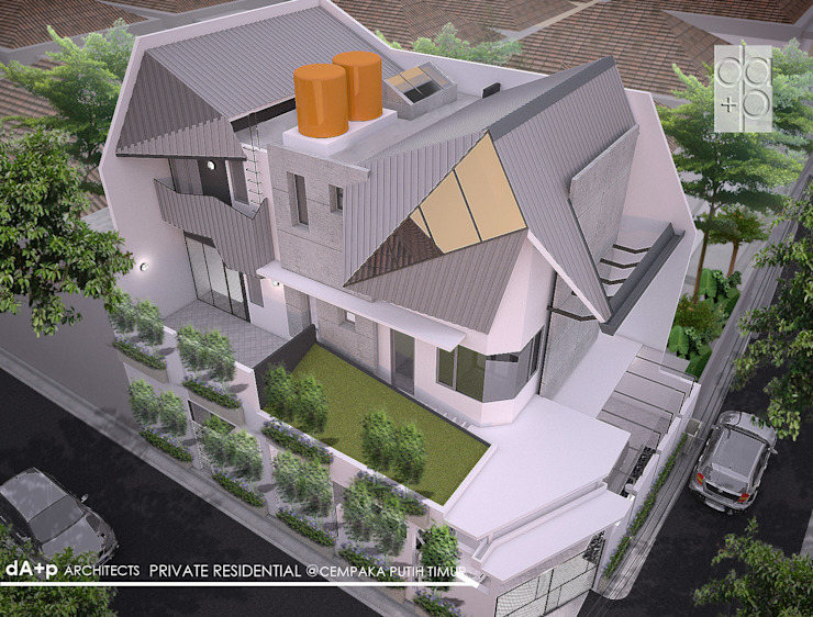 Green-Turf-Roof Oleh daksaja architects and planners
