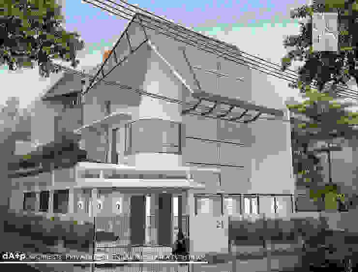 Attic and Moon-Light Balcony Oleh daksaja architects and planners