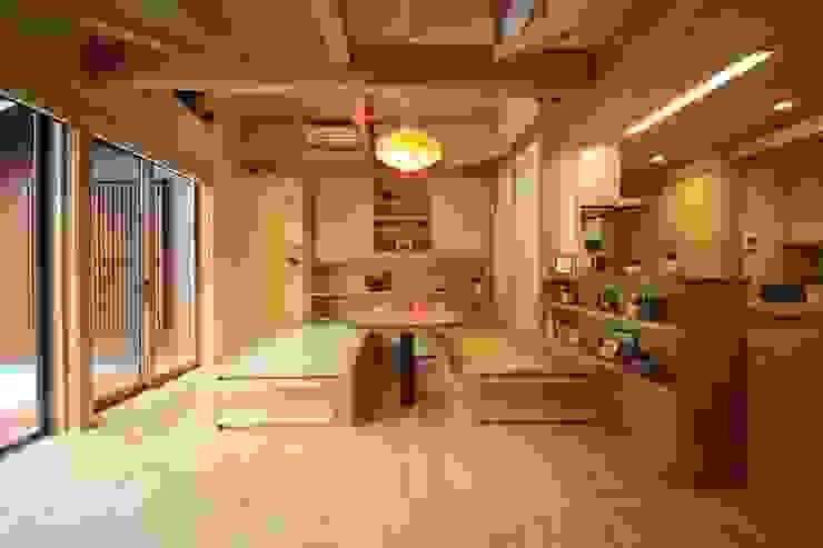 田村建築設計工房 아시아스타일 거실