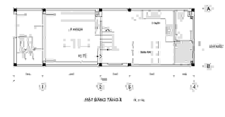 Phương án bố trí các phòng chức năng bởi Công ty TNHH Xây Dựng TM – DV Song Phát Hiện đại