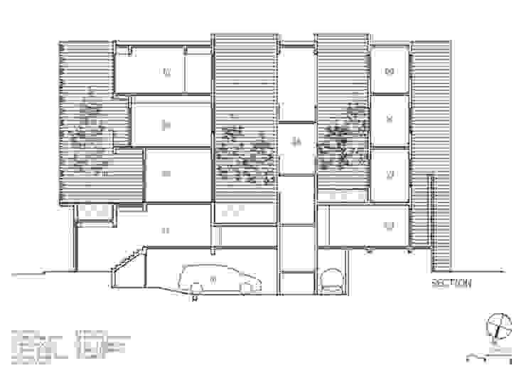 Projekty,  Dom jednorodzinny zaprojektowane przez Công ty TNHH Xây Dựng TM – DV Song Phát, Nowoczesny
