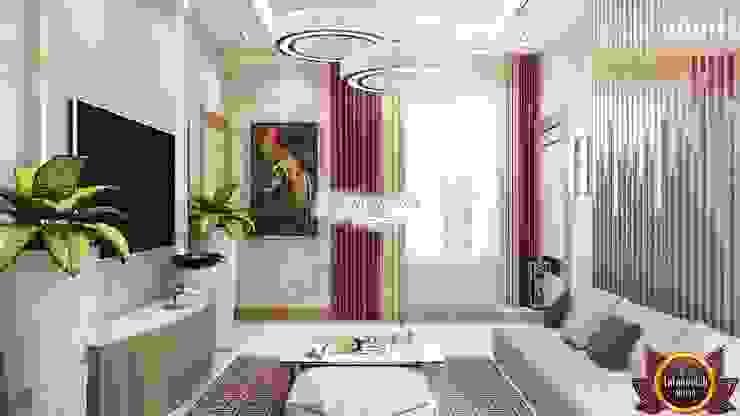 Salones de estilo moderno de Luxury Antonovich Design Moderno