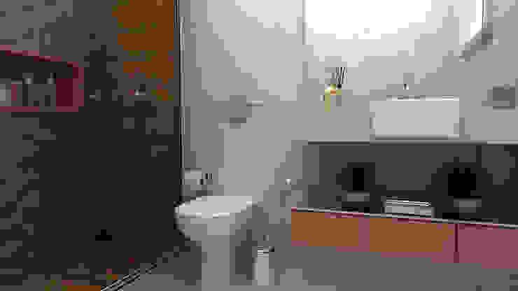 Modern bathroom by Multiplanos Arquitetura Modern