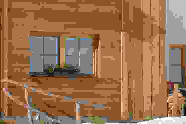 Woodbau Srl Rumah kayu Kayu