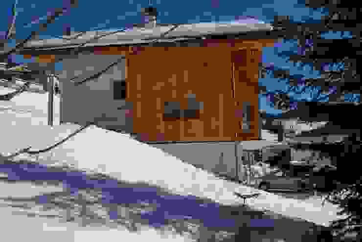 Woodbau Srl Rumah pasif Kayu