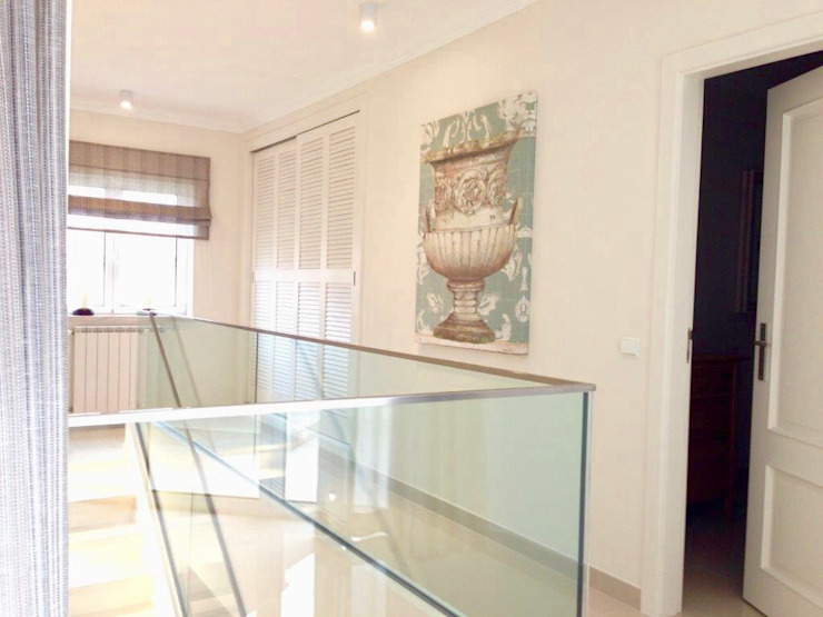 Elite De Elogios Vestíbulos, pasillos y escalerasEscaleras Vidrio Transparente