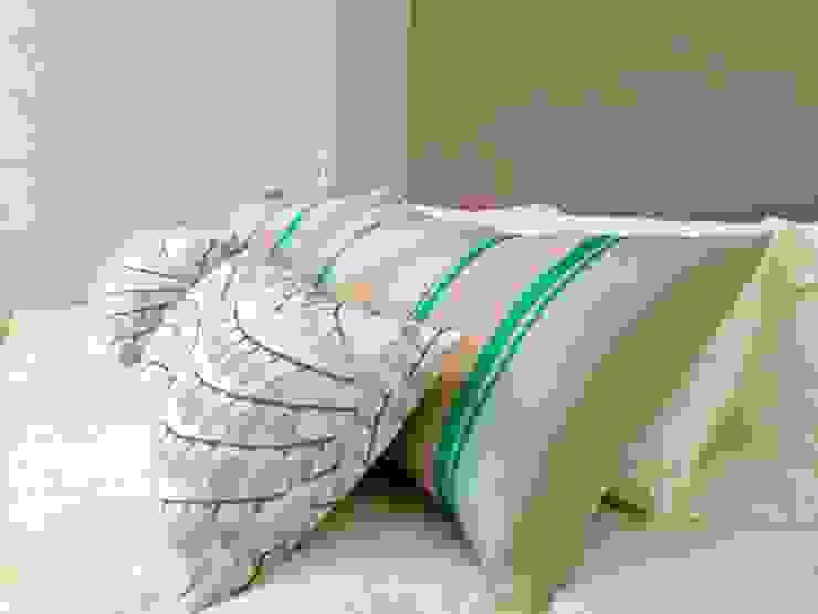 Elite De Elogios Yatak OdasıAksesuarlar & Dekorasyon Keten Mavi