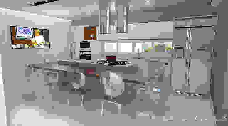 Espaço Gourmet por Rodrigo Westerich - Design de Interiores Minimalista