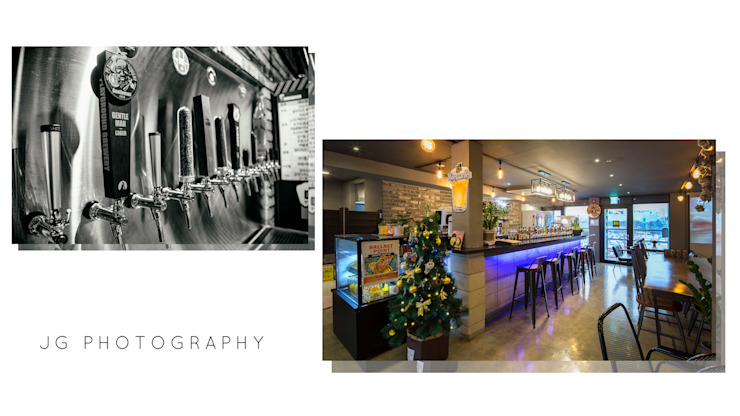 Modern bars & clubs by JG PHOTOGRAPHY Modern