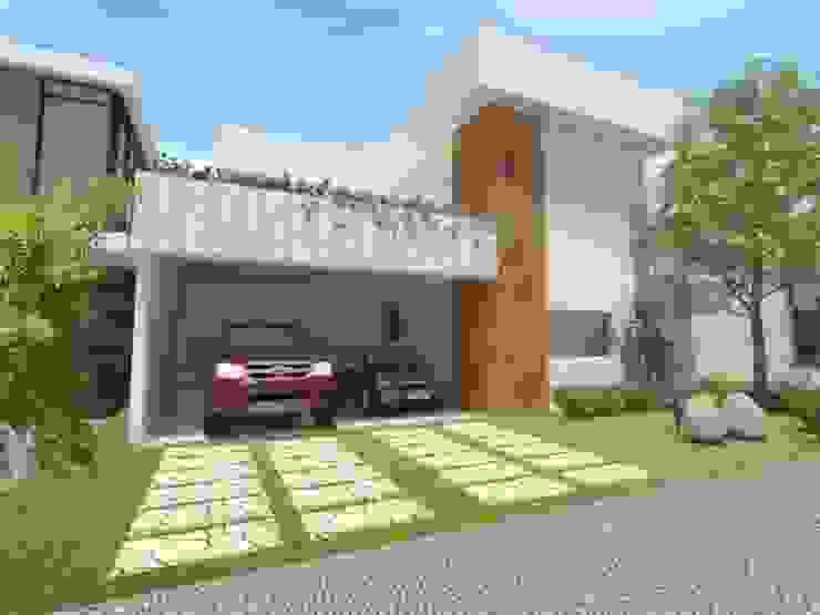 Casas minimalistas de Imaginare Arquitetura e Interiores Minimalista